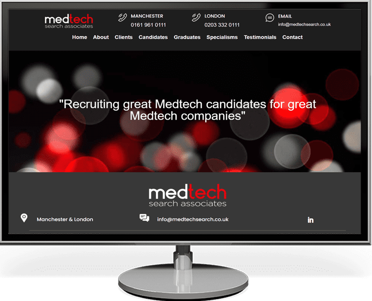 WebRecruit Lite Low cost recruitment website package image