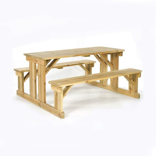 Guernsey 8 seat easy access walk-in picnic table