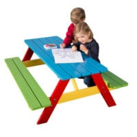 Nursery school picnic table