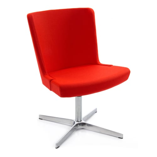 Skapa RFU sidechair - 4 star swivel base