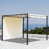 Outsunny retractable pergola canopy 3 x 3 Metres