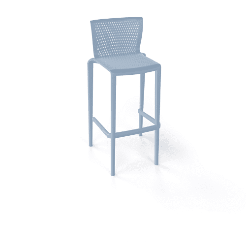 Spyker Stool pale blue