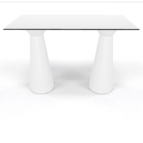 Roller Table 1100 1590x790 white white