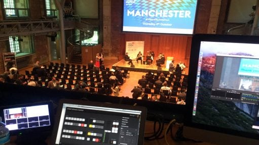 Live streaming Manchester image